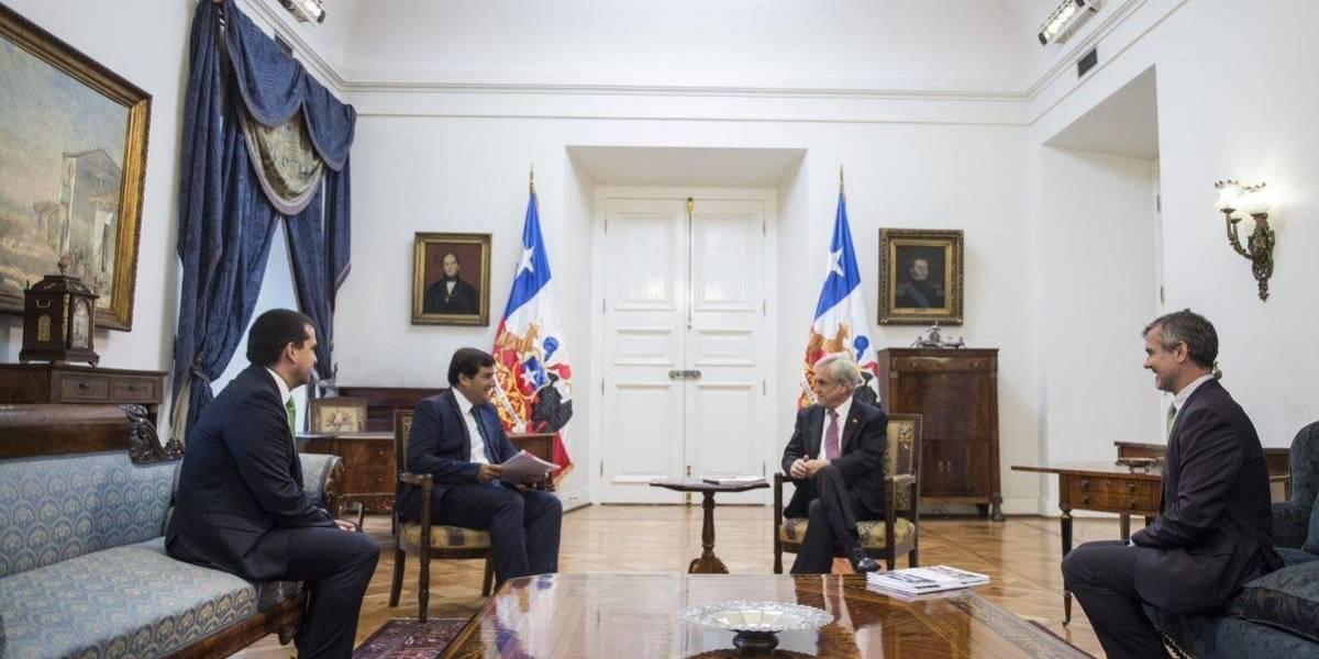 Representantes de Microsoft se reunieron con el Presidente Piñera para hablar de desarrollo digital