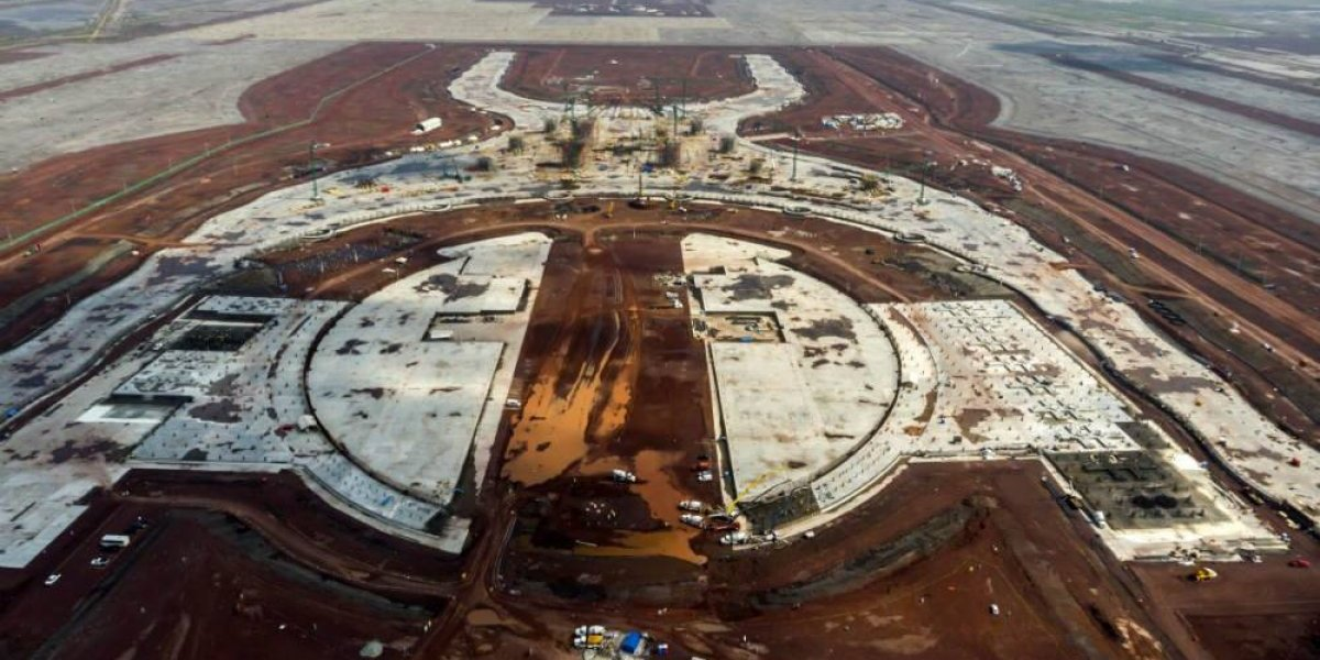 ¿Consulta sobre el nuevo aeropuerto? Cambio de página