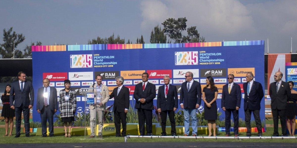 Inauguran el Mundial de Pentatlón Moderno México 2018