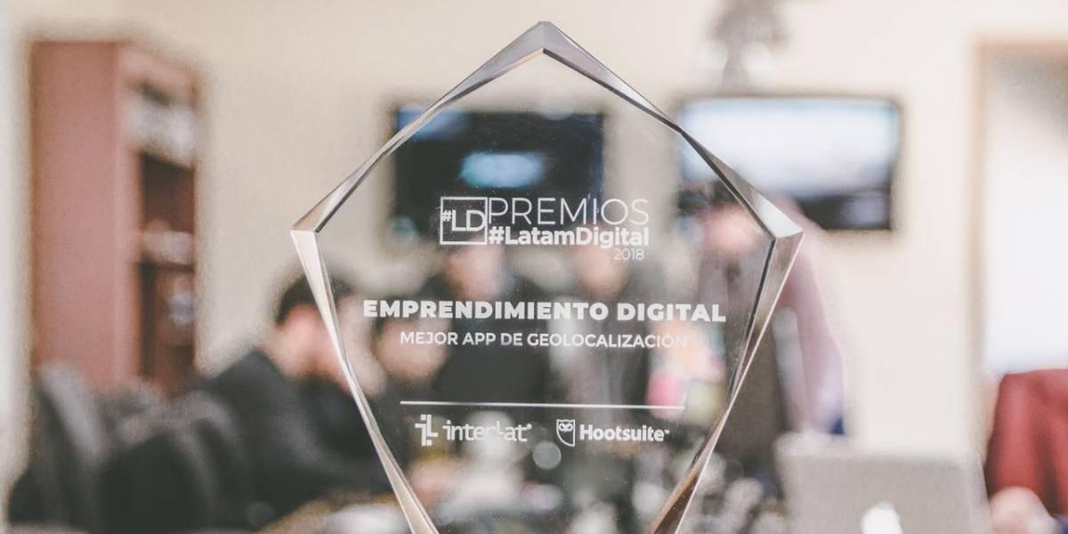 Aplicación chilena gana como mejor app de geolocalización de Latinoamérica en importante premio internacional