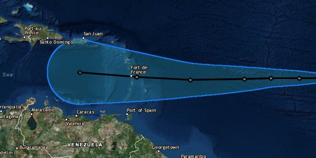 Tormenta Isaac se fortalece en su camino a Puerto Rico