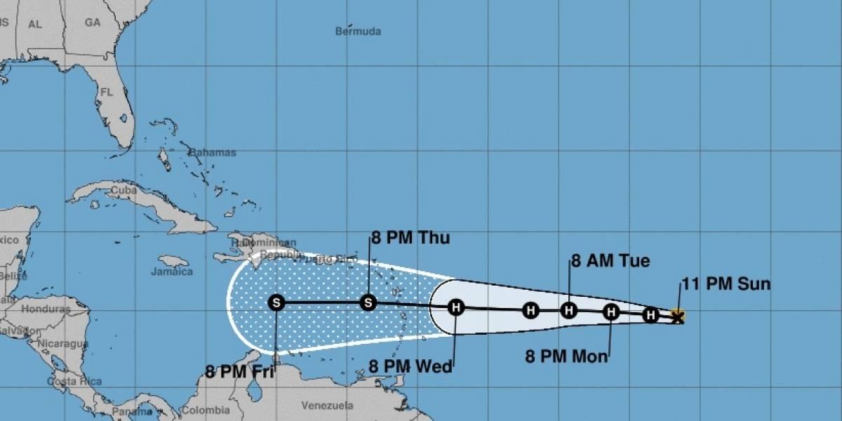 Isaac ya es huracán y amenaza las Antillas Menores