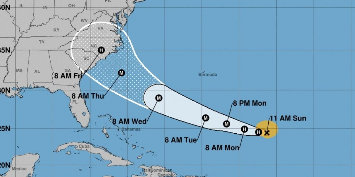 Florence amenaza costa de EEUU como fuerte huracán