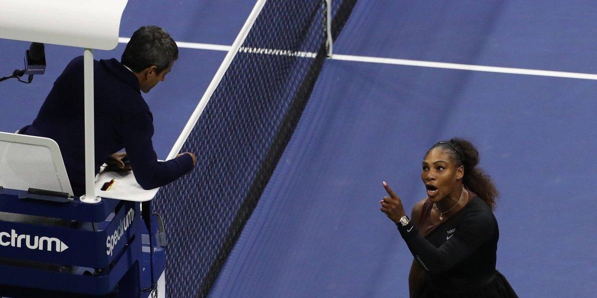 Multan a Serena Williams por su escándalo en el US Open