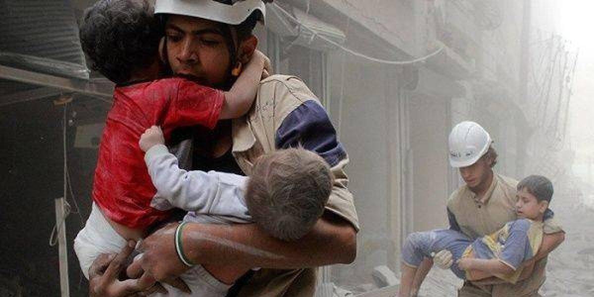 Comienza ofensiva en Siria y las familias se preparan ante posible ataque químico