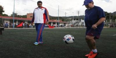 Maradona, en Dorados: