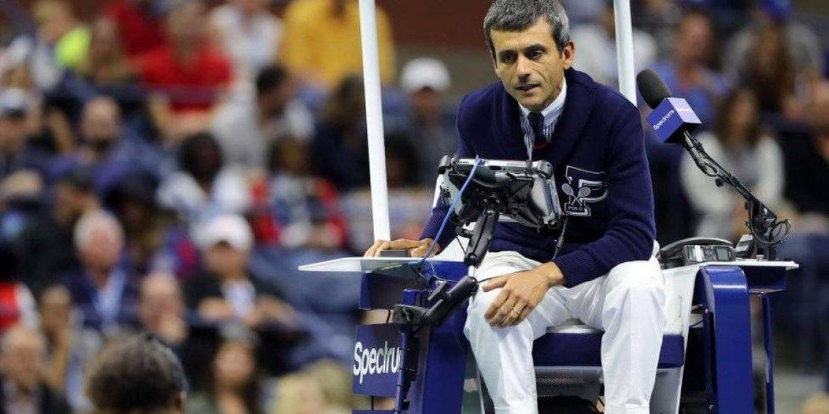 Serena Williams: quién es el árbitro portugués Carlos Ramos al que la tenista estadounidense acusó de sexista