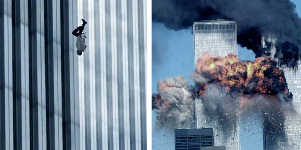 Así se vio desde el espacio el atentado del 11-S