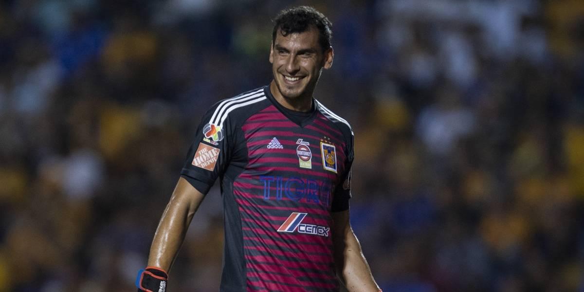 Nahuel Guzmán se volvió a enamorar de los Tigres