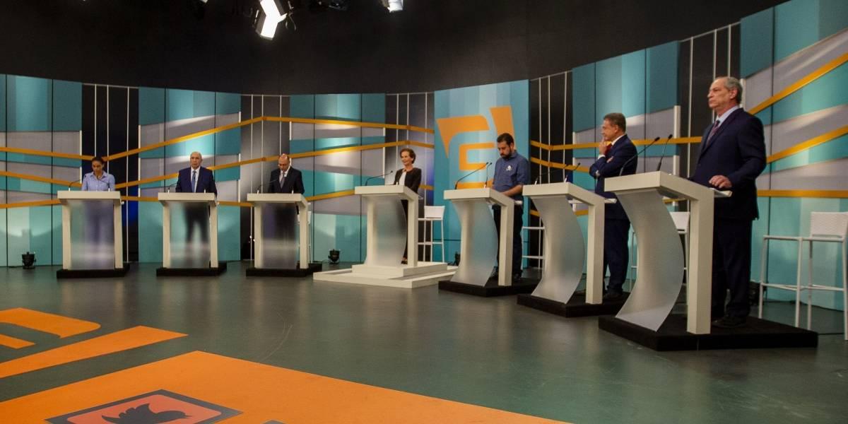 Em debate, candidatos à Presidência falam em pacificar o país