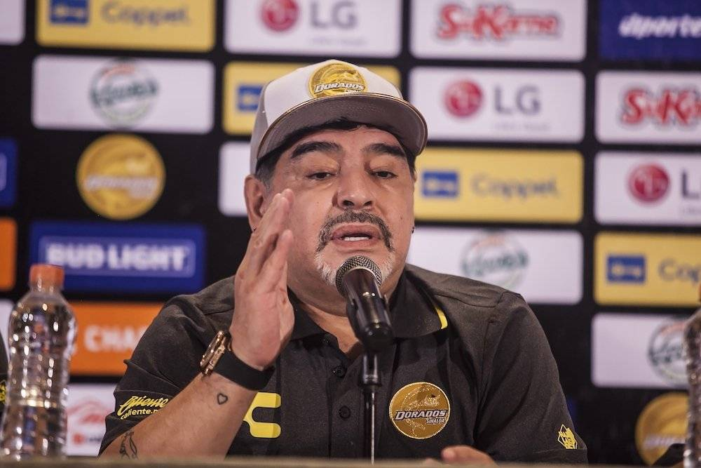 Diego prometió trabajar duro con el equipo sinaloense. / Mexsport