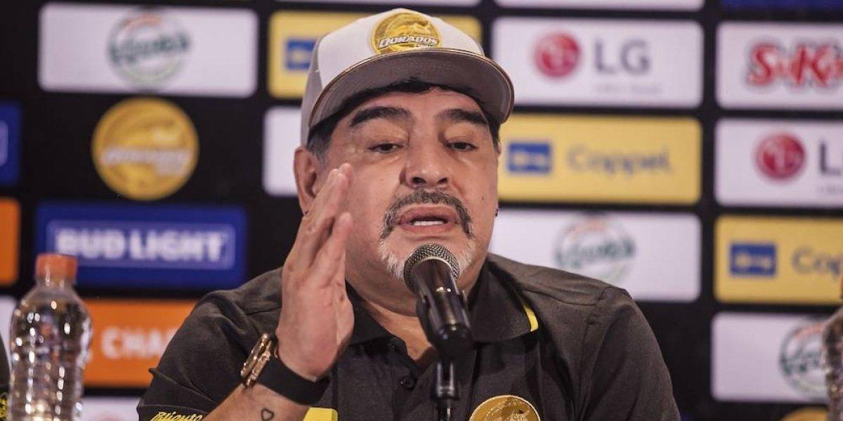 Maradona aseguró que llega a Dorados para trabajar y no de vacaciones