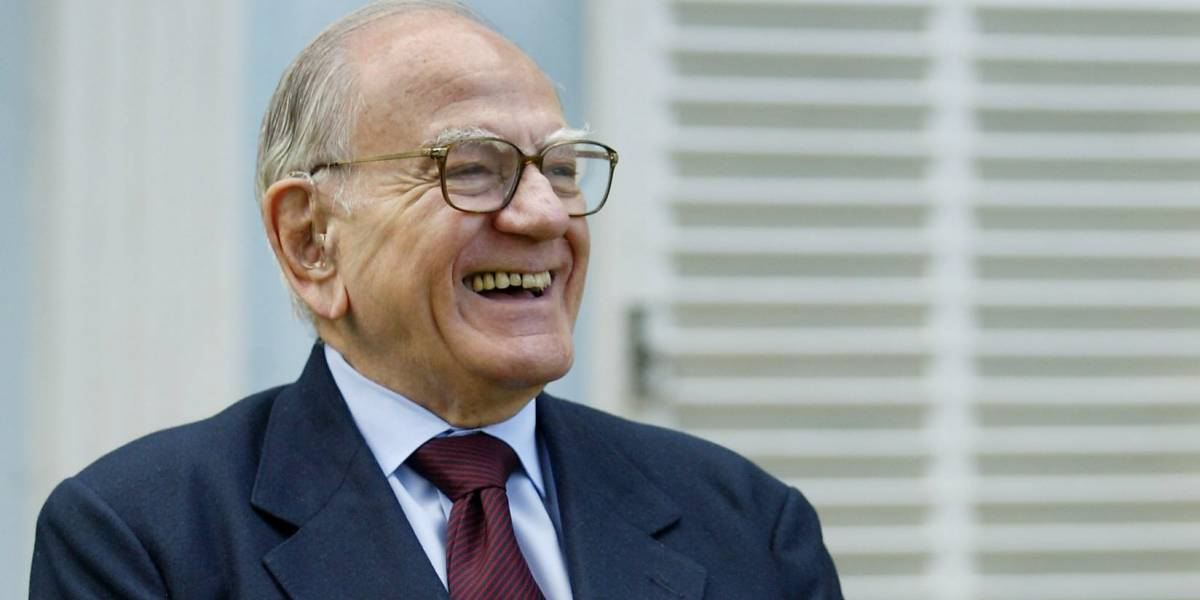Helio Jaguaribe, jurista e membro da ABL, morre no Rio aos 95 anos