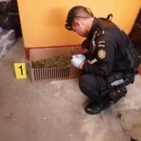 encuentran droga en allanamiento zona 5 de Mixco