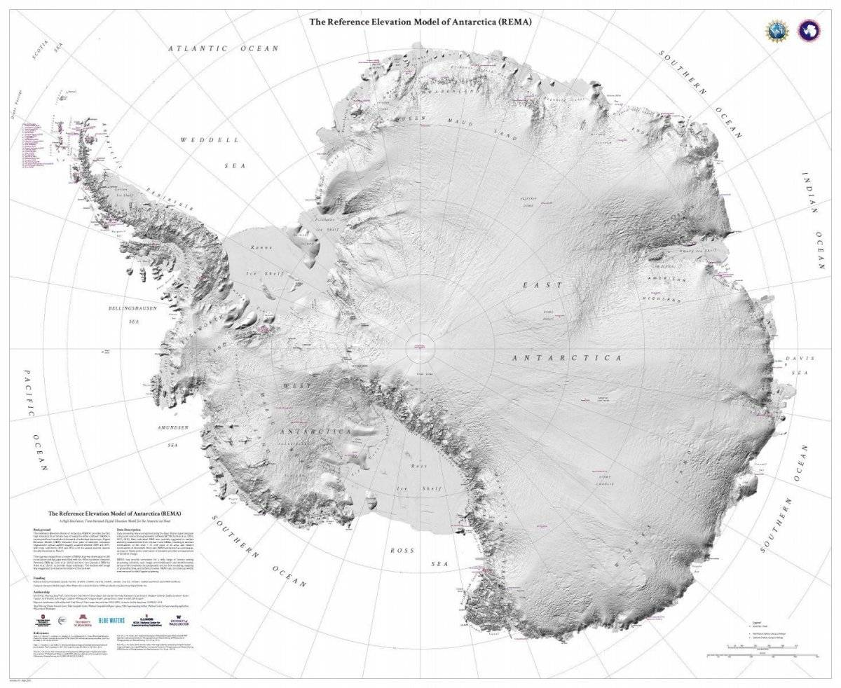 Estudio indica que el 24% del hielo de la Antártida occidental es bastante inestable