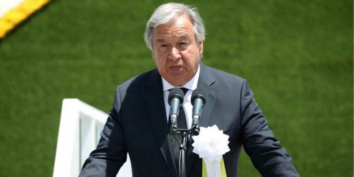 """Secretario General de ONU """"analiza cuidadosamente"""" carta enviada por Guatemala"""