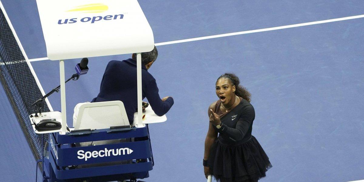 WTA no condena actitud de Serena Williams y termina apoyando su postura