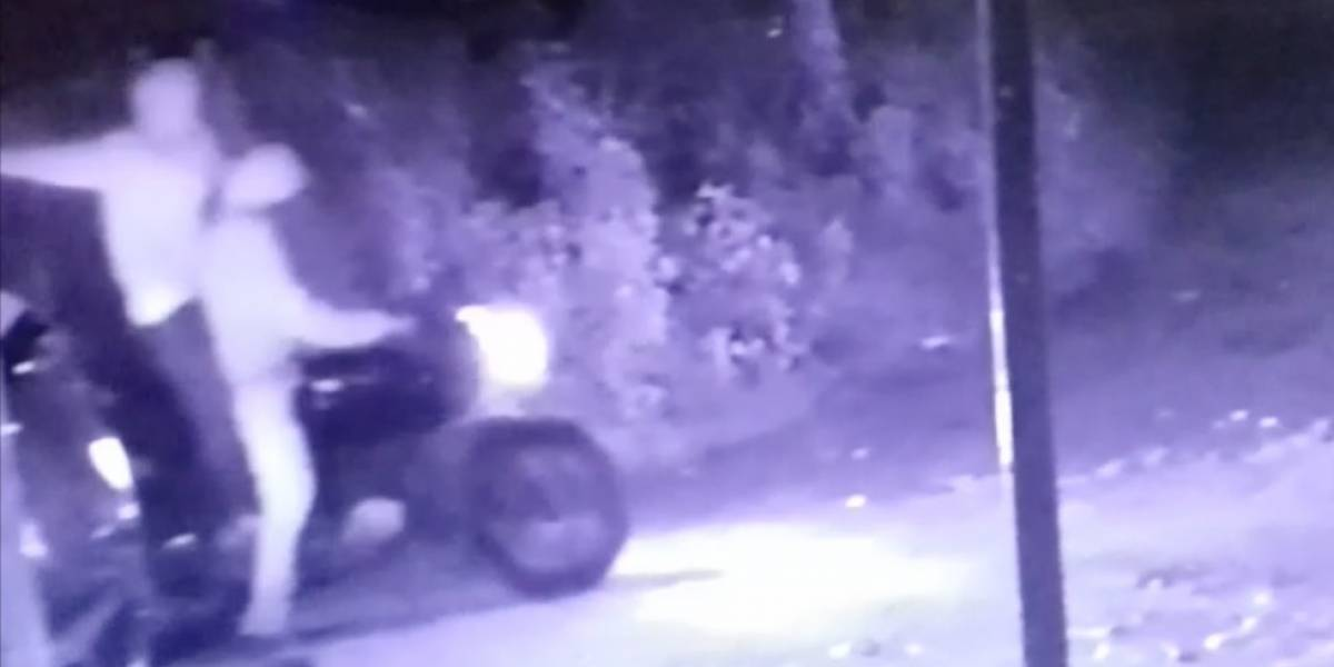 VIDEO. Cámaras captan momento del ataque armado contra recolectores de basura