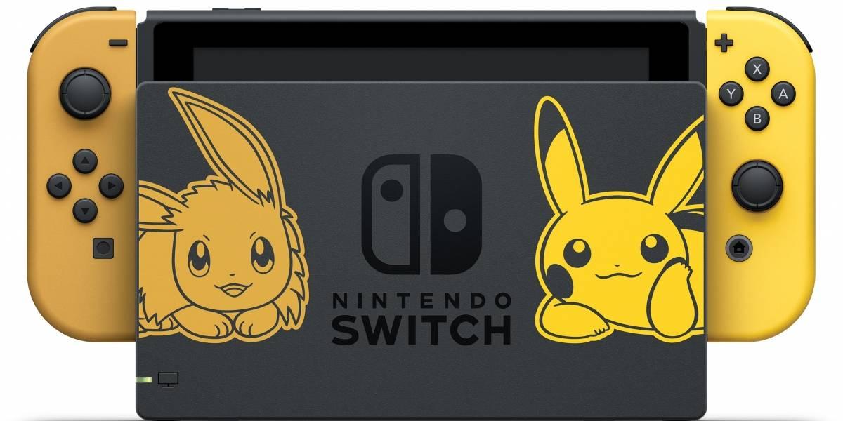 No puedo esperar: la Nintendo Switch versión Pikachu & Eevee es hermosa