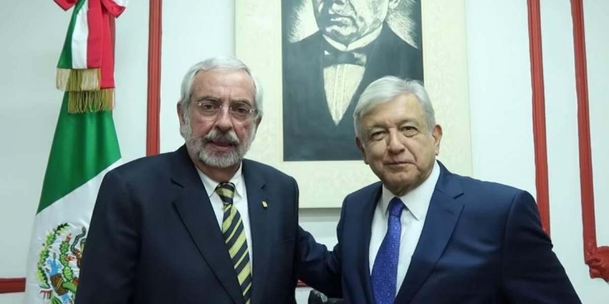 No prosperará ningún intento de desestabilizar a la UNAM: AMLO