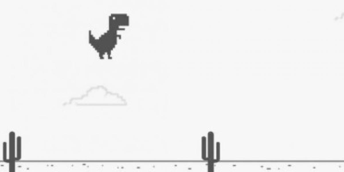 Finalmente conocemos el origen del mítico juego del dinosaurio sin conexión de Google
