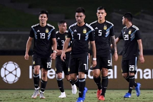 Lista de convocados de Argentina para amistoso contra Colombia