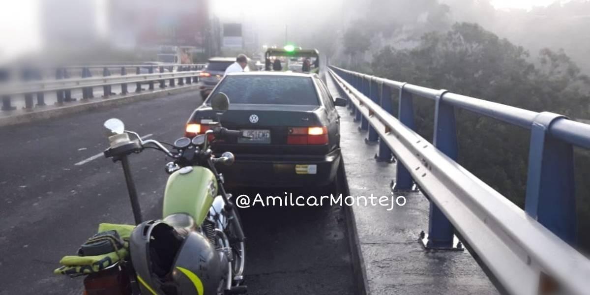 Autoridades de tránsito reportan colisiones y vehículos averiados este lunes