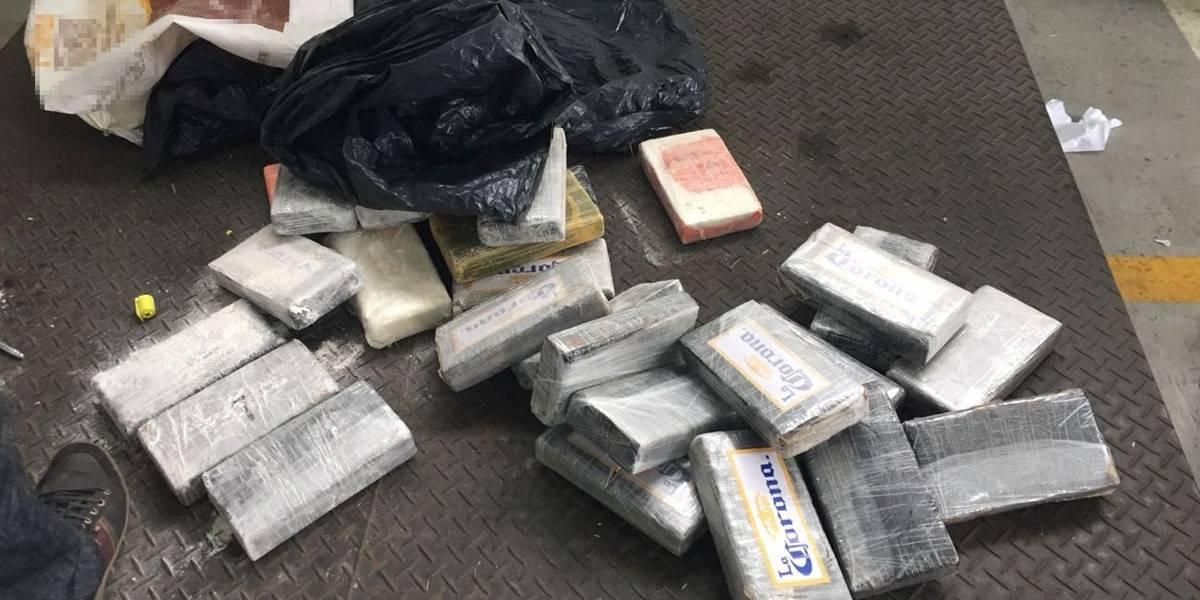 Receita intercepta 107 kg de cocaína no Porto de Santos