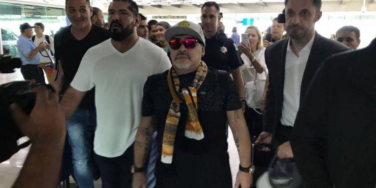 VIDEO: Maradona, desorientado en entrevista