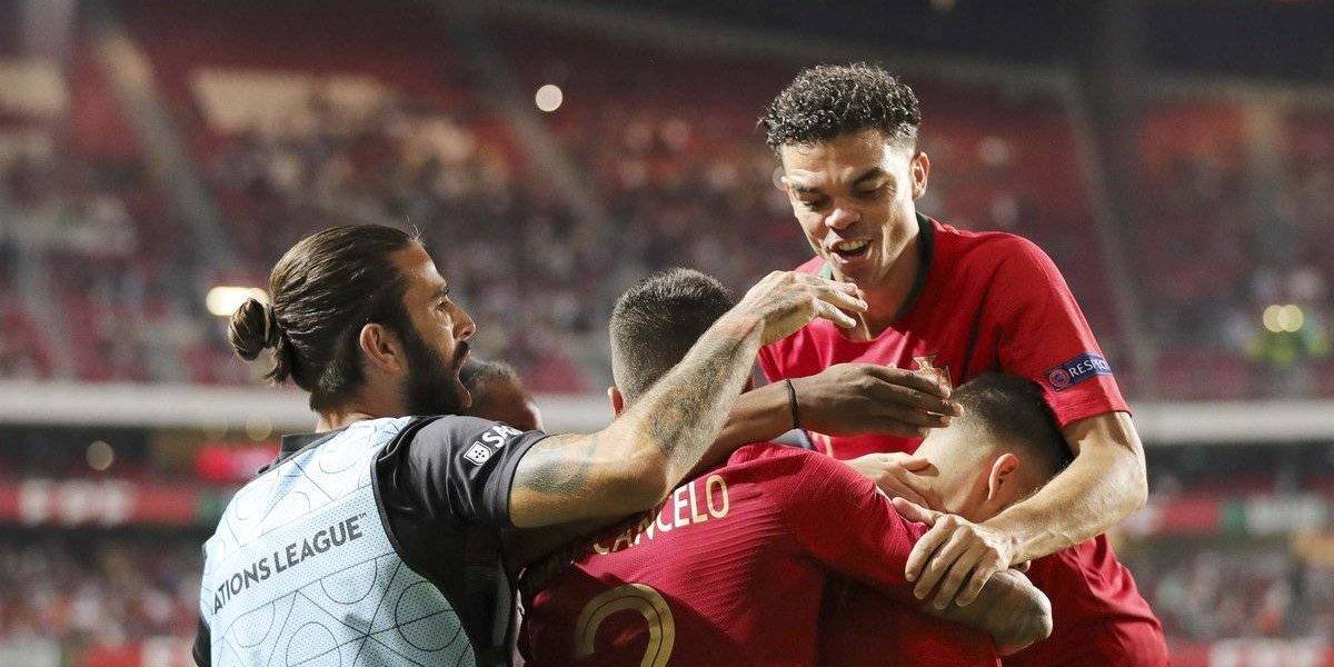 Sin CR7, Portugal derrota a Italia