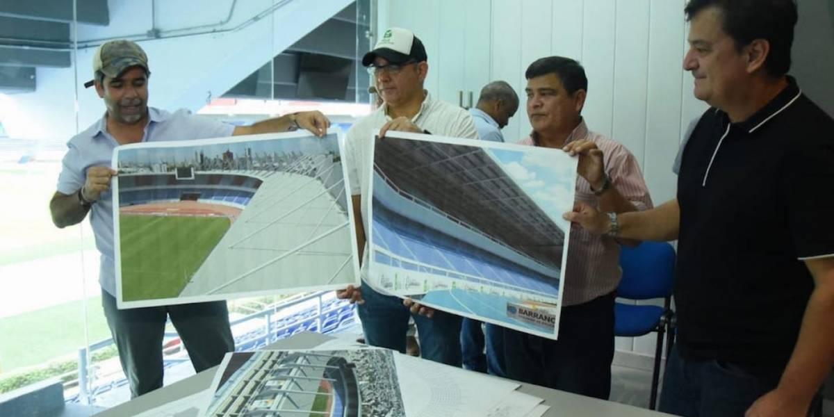 El Estadio Metropolitano de Barranquilla tendrá nueva cubierta