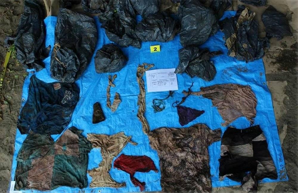 Ropa encontrada en fosas clandestinas de Veracruz Foto: Cuartoscuro