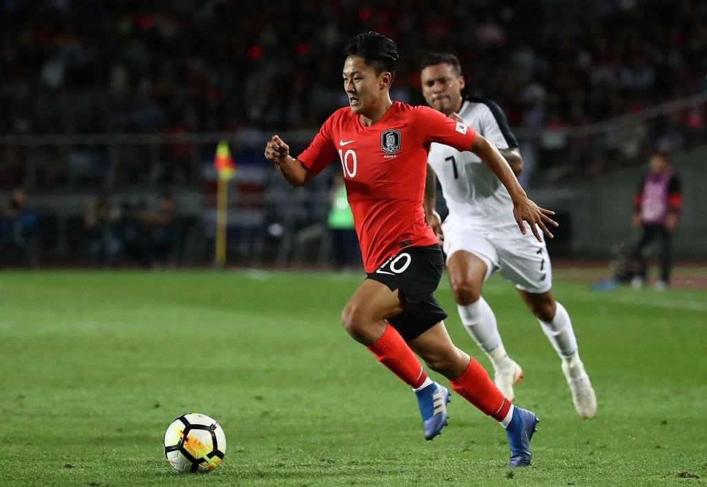Lee Seung-woo, el Messi de Corea del Sur. Se formó en Barcelona y actualmente milita en el Hellas Verona de Italia / Foto: Getty Images
