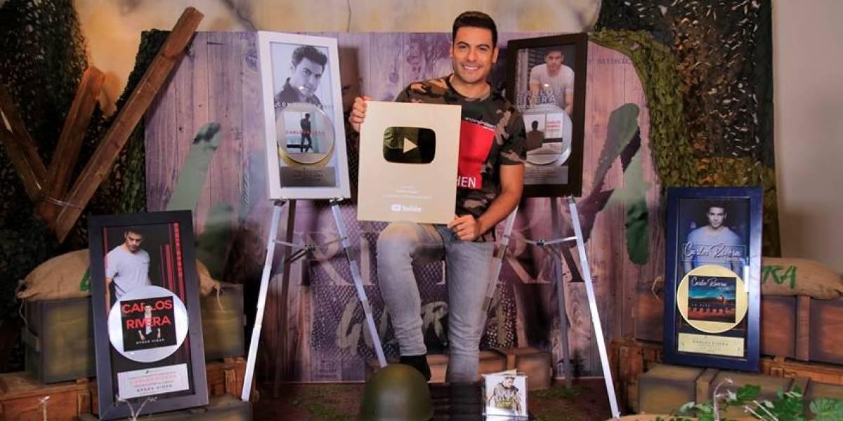 Carlos Rivera lanza su nuevo álbum, 'Guerra'