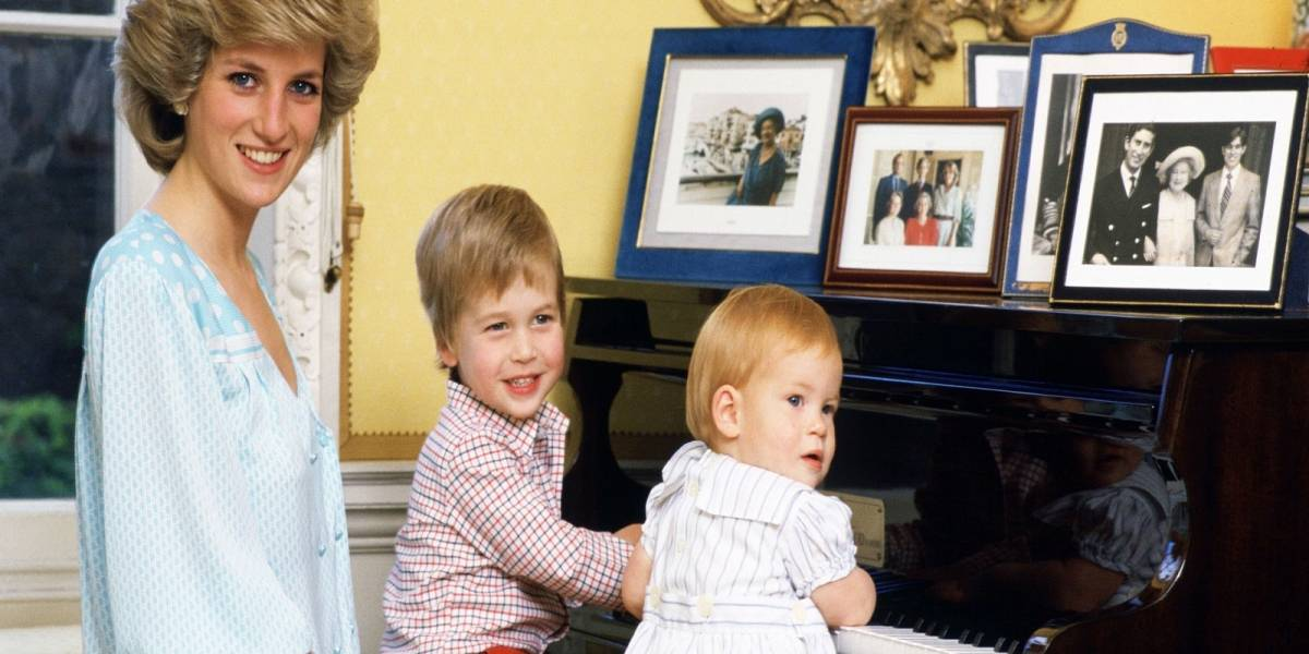 Así quería llamar el príncipe Carlos a sus hijos pero Lady Di no se lo permitió