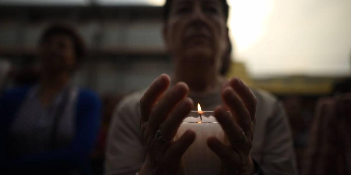 """EN IMÁGENES. Realizan el """"Peregrinaje de la Indignación"""" para protestar por acciones del gobierno"""