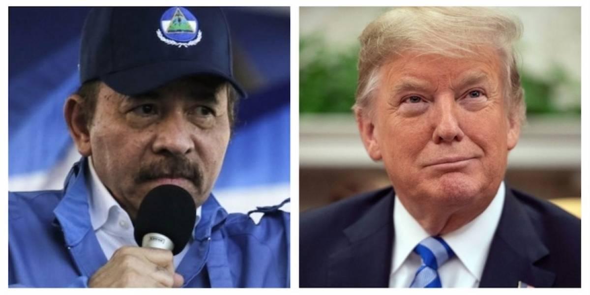 """Ortega, dispuesto a """"conversar"""" con Trump sobre la crisis en Nicaragua"""