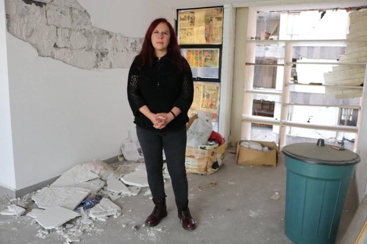 A un año del sismo damnificados siguen en incertidumbre Cecilia Borja