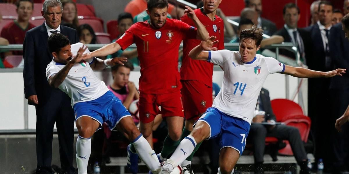 Portugal x Itália: sem Cristiano Ronaldo, portugueses saem na frente