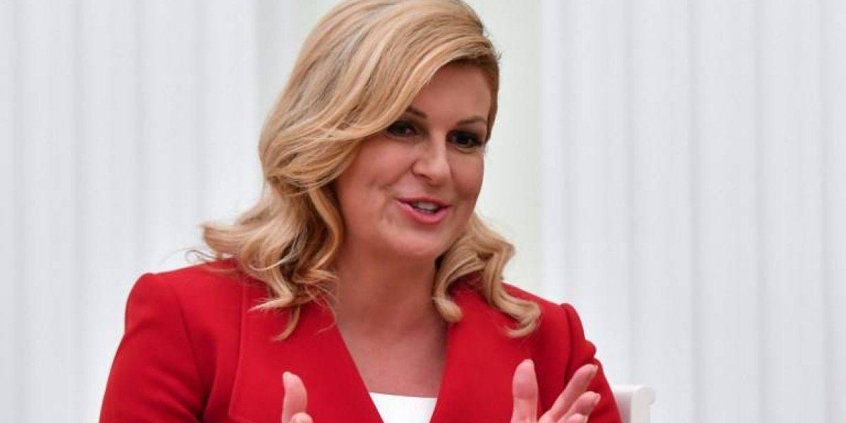La mandataria croata no vendió el avión presidencial ni bajó su salario