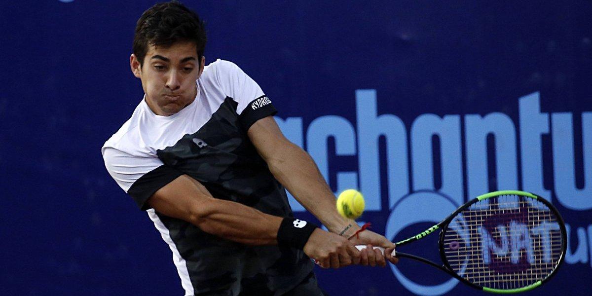 Garín se retiró del Challenger de Banja Luka tras estrenar su mejor ranking con un triunfo