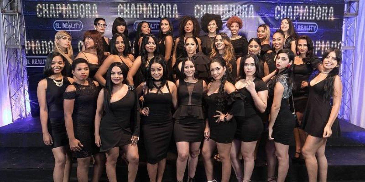 Sinergia Films presentó las 30 jóvenes que competirán en Chapiadora el reality