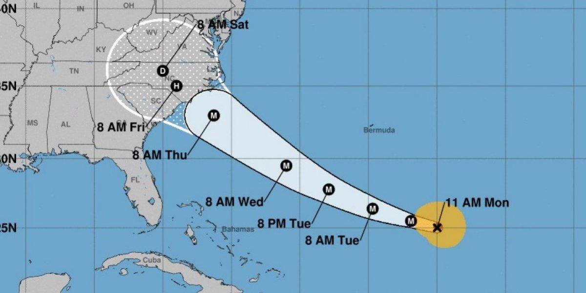 Florence sube a categoría 4 y es considerada potencialmente catastrófica