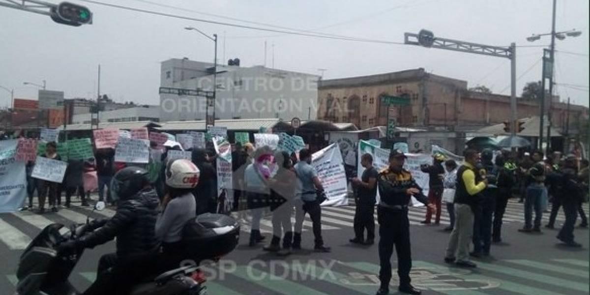 '¡Ser de Tepito no es un delito!', protestan vecinos contra operativos