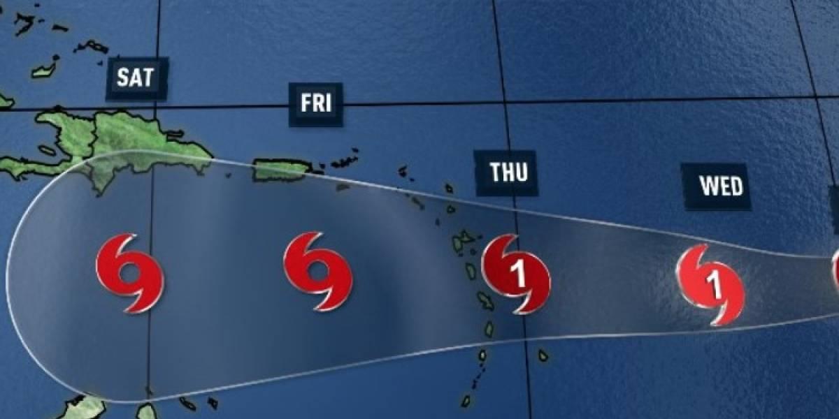 CNH proyecta que Isaac se debilite en su rumbo al Caribe