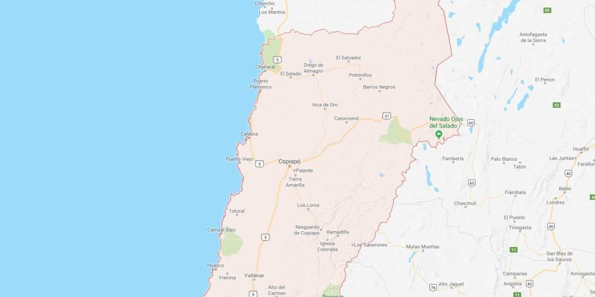 Sismo de magnitud 5 despierta a Chile