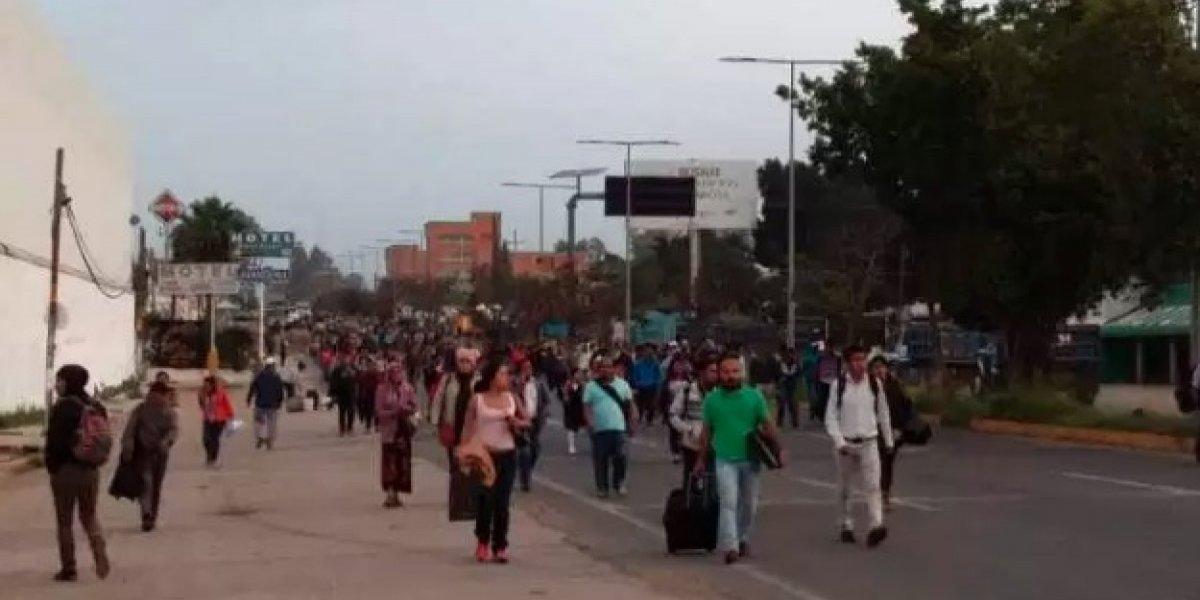 Bloqueos del Sindicato Libertad paralizan Oaxaca