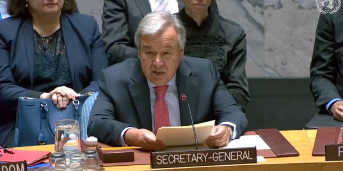 Secretario General de ONU señala que CICIG es un ejemplo de combate a la corrupción