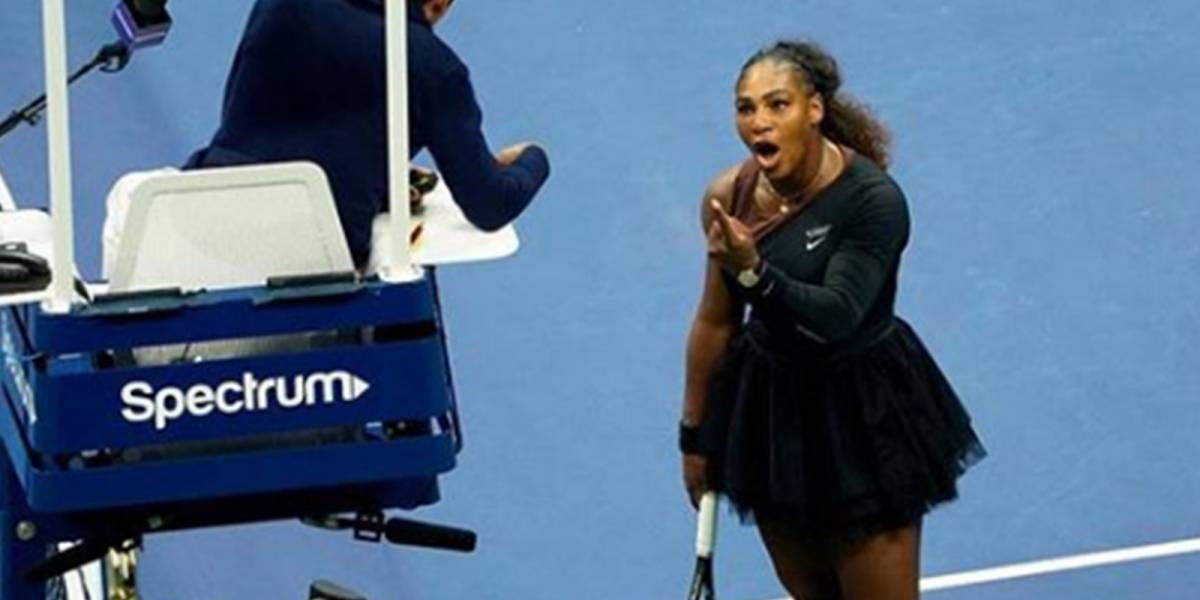 El video que muestra la fuerte discusión entre Serena Williams y el árbitro que empañó su final en el Us Open