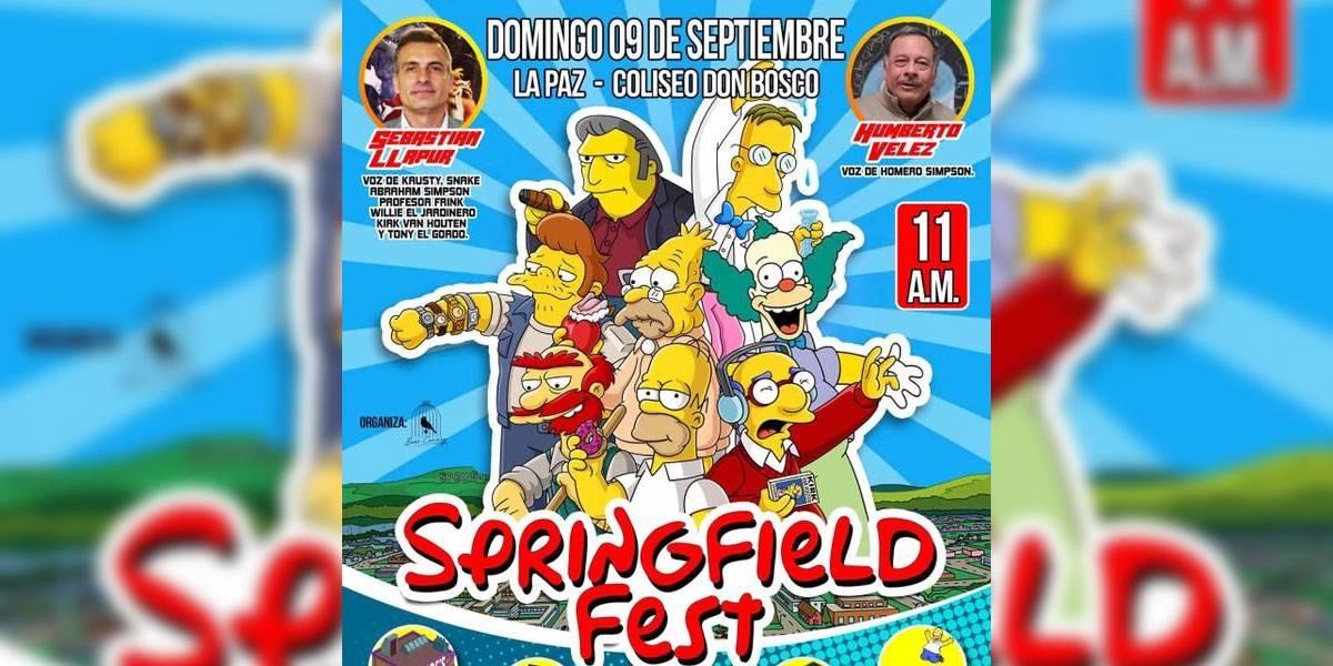 El Springfield Fest reunió a cientos de fans de Los Simpson y todo fue risas